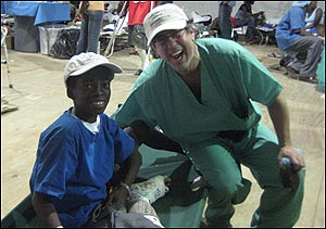 Albert Aboulafia, MD in Haiti